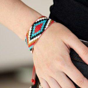Beautiful Badlands Red Bracelet